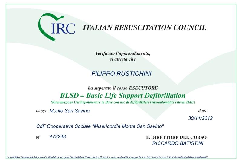 Dr. Filippo Rustichini