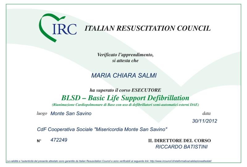 Dr.ssa Maria Chiara Salmi